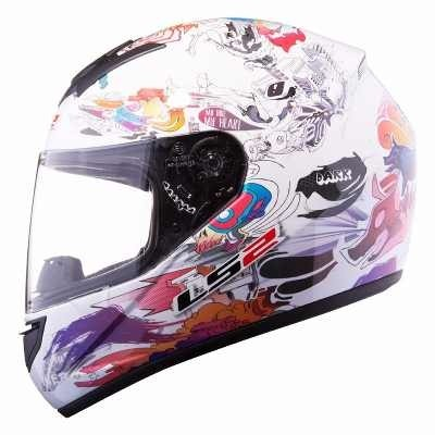 Casco Ls2 Ff350 Comic White