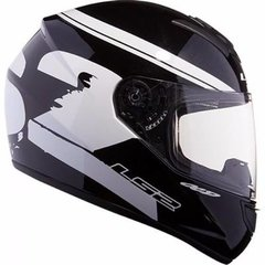 Casco Ls2 Ff350 Fluo Black White