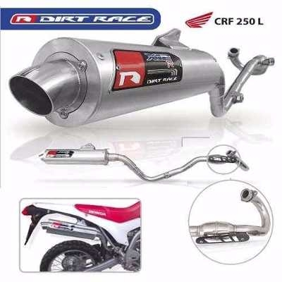 Escape Con Bomber Aluminio Honda Crf250l Dirt Race