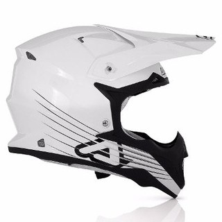 Casco Acerbis Impact Full White Super Liviano