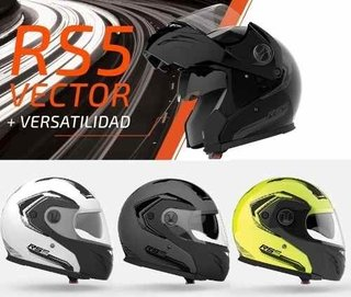 Casco Halcon Hawk Rs5 Vector Doble Visor Rebatible Motodelta en internet
