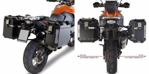 Soporte Baul Lateral Givi Outback Ktm Adventure 1190 2013-16
