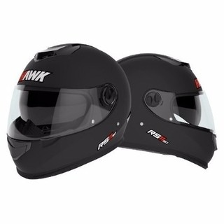 Casco Hawk Rs11 Integral Doble Visor Excelente