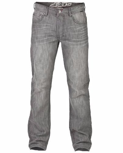 Pantalon De Jean Alpinestars The Drifter Grey Moto Delta