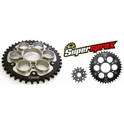 Kit Transmision Supersprox Honda Cbr 600 2004/15 42-16