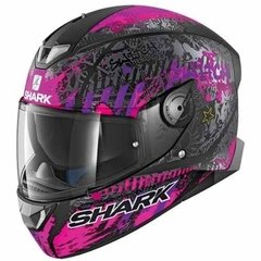 Casco Shark Skwal 2 Switch Con Leds Nuevo Modelo! Moto Delta