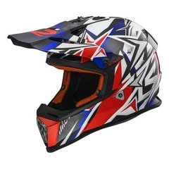 Casco Cross Ls2 Mx 437 Junior Niño Super Liviano! Moto Delta