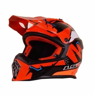 Casco Cross Ls2 Mx437 Nuevo Modelo Super Liviano! Moto Delta en internet