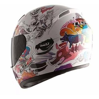 Casco Ls2 Ff350 Comic White en internet