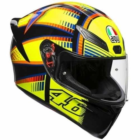 Casco Agv K1 Soleluna 2015 New Line Visor Simple Motodelta
