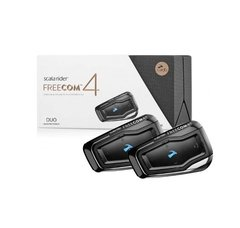 Intercomunicador Scala Rider Freecom 4 Duo Moto Delta