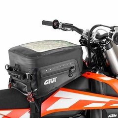 Bolso Tanque Givi Grt705 20 Lts. 100% Impermeable Moto Delta