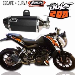 Escape Competicion Ktm Duke 200 Ira Racing