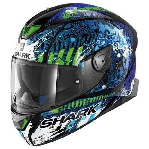 Casco Shark Skwal 2 Switch Con Leds Nuevo Modelo Moto Delta