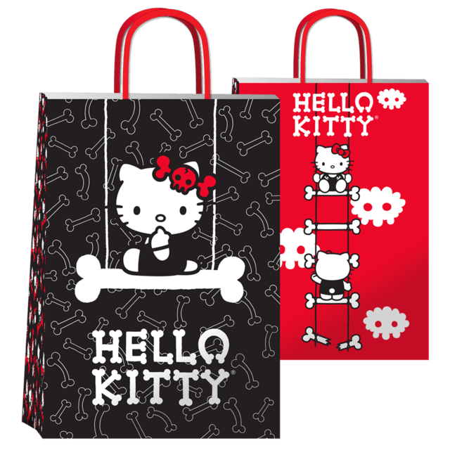 BOLSA KITTY DARK 14x08x20 (X10 UNIDADES)