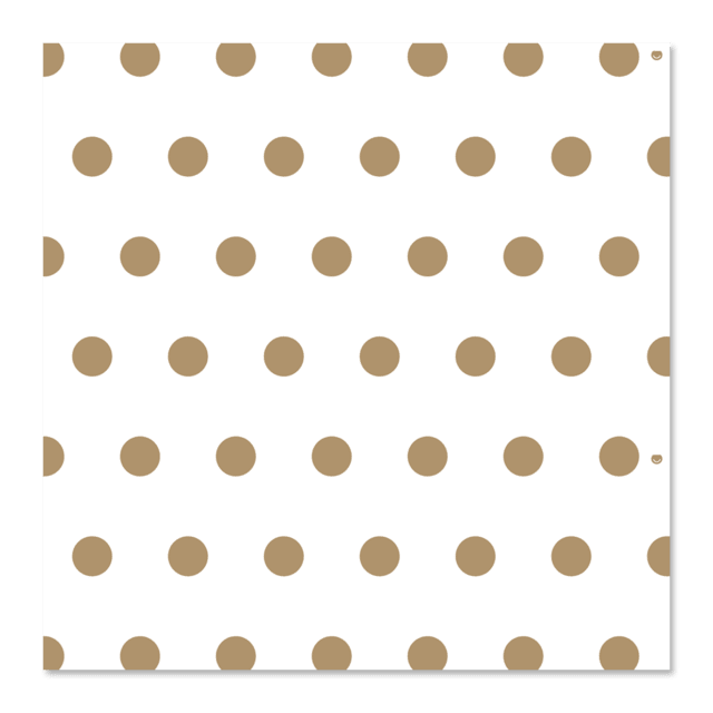 PAPEL DE REGALO - GOLDEN DOTS 0.4m x 100m