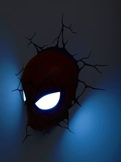 Spiderman Mascara Lampara Decorativa 3d - Led Original en internet
