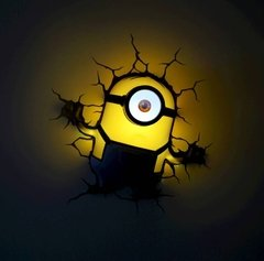 Minions Stuart Lampara Decorativa 3d - Led De Pared Original en internet