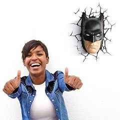 Batman Mascara Lampara Decorativa 3d - Led Original DC en internet