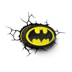 Batman Logo - Lampara Decorativa 3d - Led Original DC en internet