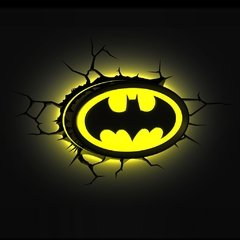 Batman Logo - Lampara Decorativa 3d - Led Original DC - comprar online