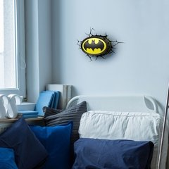 Batman Logo - Lampara Decorativa 3d - Led Original DC - tienda online