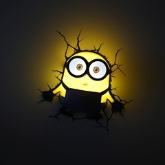 Minions Bob Lampara Decorativa 3d - Led De Pared Original - comprar online