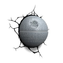 Death Star -Star Wars Lampara Decorativa 3d - Led Original
