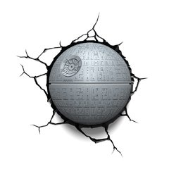Death Star -Star Wars Lampara Decorativa 3d - Led Original en internet