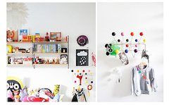 Perchero de pared Eames - Diseño Hang It All - Jethro Decoracion