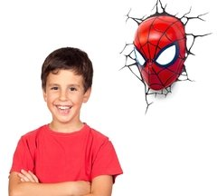Spiderman Mascara Lampara Decorativa 3d - Led Original - comprar online