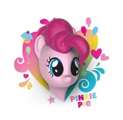 My Little Pony Pinkie Pie Lampara Decorativa 3d - Led Orig