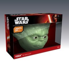 Yoda Star Wars Lampara Decorativa 3d - Led Original