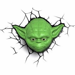 Yoda Star Wars Lampara Decorativa 3d - Led Original - comprar online
