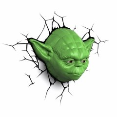 Yoda Star Wars Lampara Decorativa 3d - Led Original en internet