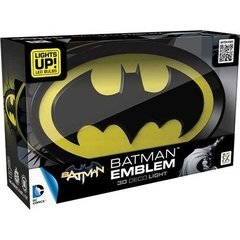 Batman Logo - Lampara Decorativa 3d - Led Original DC