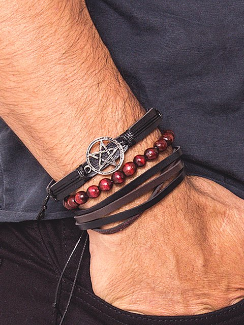 Pulseira Masculina Chicago Star - 22087