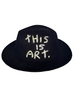 Chapéu Fedora This is art - 22527 na internet