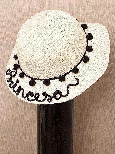 Chapéu de Praia Decorado dac3730f434