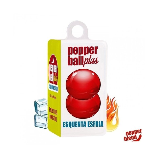 PEPPER BALL PLUS- ESQUENTA ESFRIA- HOT FLOWERS