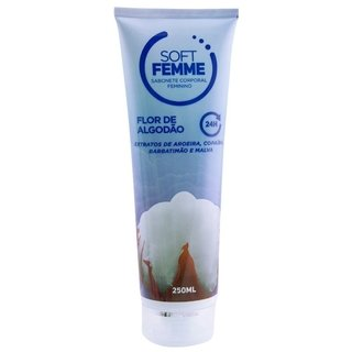 SOFT FEMME SABONETE LÍQUIDO FEMININO 250ML SOFT LOVE