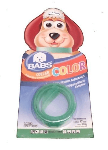 Collar Color Blister Babs- Perro Mediano