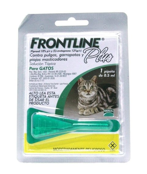Pipeta Frontline® Plus Gato