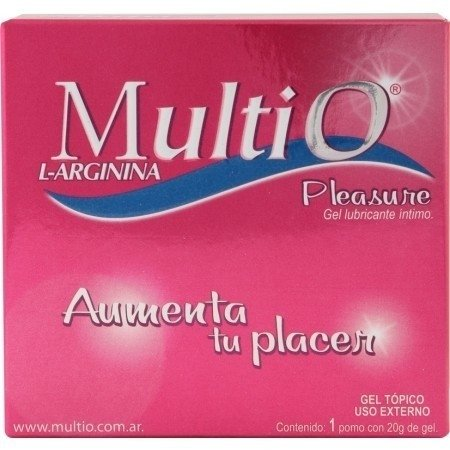 4424-04 Multio Pleasure Gel Lubricante Intimo Femenino 20g