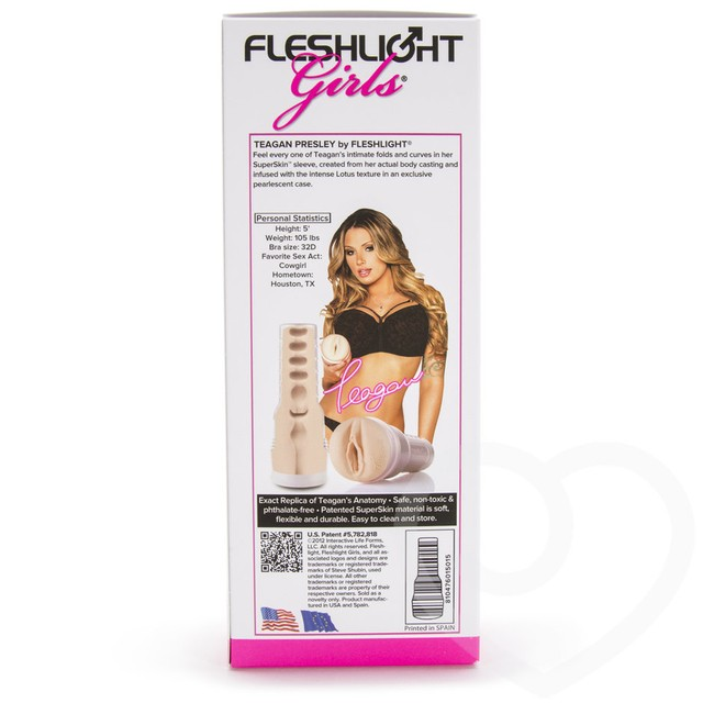 015015 Teagan Presley Fleshlight Girls Lotus - comprar online