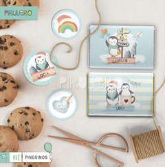 Kit imprimible Pinguinos - Winter Wonderland - Pirulero