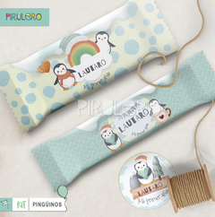 Kit imprimible Pinguinos - Winter Wonderland - tienda online