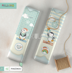 Imagen de Kit imprimible Pinguinos - Winter Wonderland