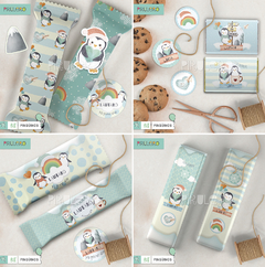 Kit imprimible Pinguinos - Winter Wonderland - comprar online