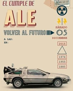 Kit Imprimible Volver al futuro - Back to the Future